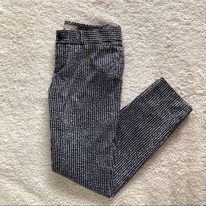 Banana Republic Black Print Pants